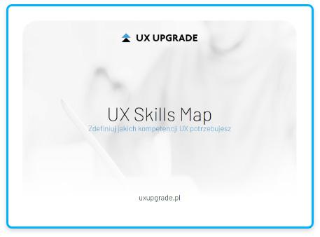 UX SKILLS MAP